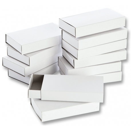 12 Boîtes d'allumettes - Grand format