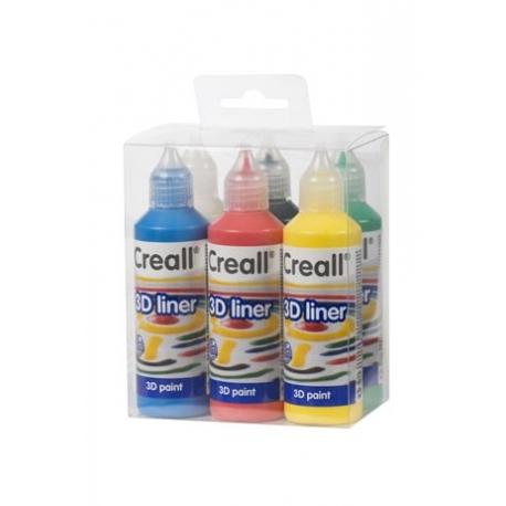 Peinture 3D Creall-3D Liner Kit 6x80 ml