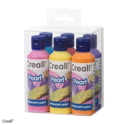 Peinture nacrée Creall Pearl Kit 6x80 ml