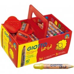 Super Crayons Giotto - box 36 pièces