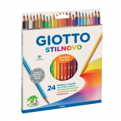Crayons Giotto Stilnovo - 24 couleurs