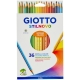 Crayons Giotto Stilnovo - 36 couleurs