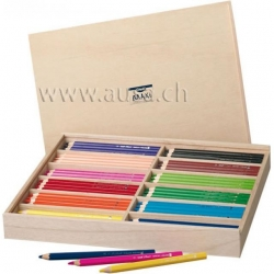 Crayons à grosse mine Creall-Maxi - emballage école