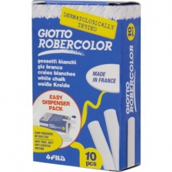 Craies Giotto-Robercolor - 10 pièces - blanc