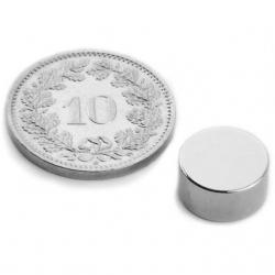 Disque magnétique en néodyme - 10 pièces