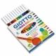 Feutre Giotto Turbo Color - 12 couleurs
