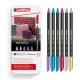 Feutre edding 1200 Metallic Color Pen - 6 pcs