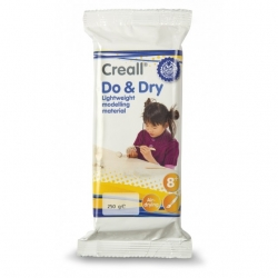 Pâte à modeler légère Creall Do&Dry Light - 250 g