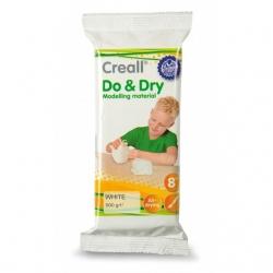 Pâte à modeler Creall Do&Dry blanche 500 g