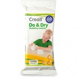 Pâte à modeler Creall Do&Dry  Terracotta - 1 kg