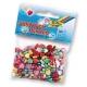 Perles décoratives avec perforation - Coeurs