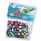 Perles décoratives avec perforation - Etoiles