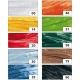 Raphia synthétique en 10 couleurs