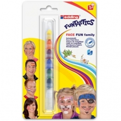 Crayons de maquillage EDDING Funtastics Face Fun Family