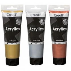 Peinture métallique acrylique Creall Studio acrylics