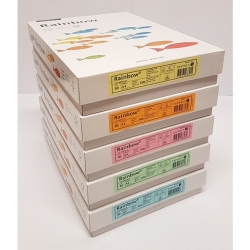 Box Papier couleur FSC A4 80g Papyrus (Rainbow clair)