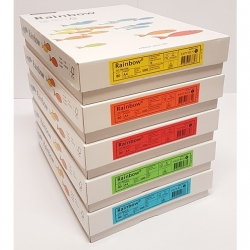 Box Papier couleur FSC A4 80g Papyrus (Rainbow intense)