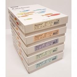 Box Papier couleur FSC A4 80g Papyrus (Rainbow pastel)