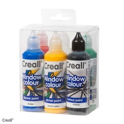 Kit Peinture Creall Windowcolor stickerpaint 6x80ml