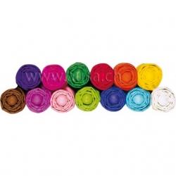 Papier de soie - assortiment 13 couleurs - 50x70 cm