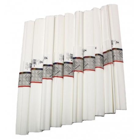 10 Rouleaux Papier crêpe fin 32 g  - 50x250 cm
