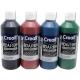 Kit de peintures tableau noir - 4x250ml - Creall Boardy