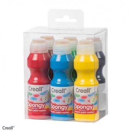 Kit marqueurs gouache - Creall spongy