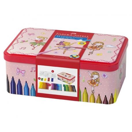 Boîte de 33 stylos feutres Faber-Castell