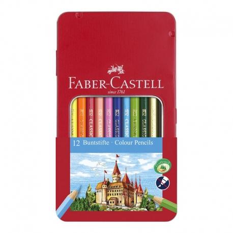 Crayons de couleurs hexagonaux